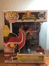 Funko POP AAA Anime Exclusive Metallic Power Rangers Megazord!!!