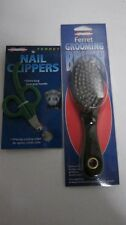 Marshall Ferret Grooming Brush / Ferret Nail Clippers combo