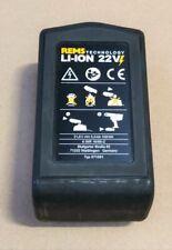 Rems batería nº 571581 Li-ion 21,6 V 5,0 ah mini batería Press cento amigo curvo 22 V