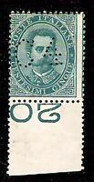 Francalettere -1887 - 4 cent su 5 -nuovo senza gomma