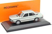 BMW 520 E12 Baujahr 1974 hellblau metallic 1:43 Minichamps