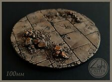 1 x 100mm base, stand, scenery by Light Caster Wargame Terrain (Unpainted)