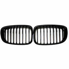 For BMW F07 5-Series 535i 550i GT Gloss Black Pair Car Front Hood Kidney Grilles