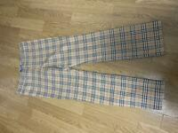 Burberry Nova Check Pants 36 Size S