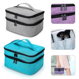 Portable Nail Polish Storage Bag Organizer Case 30 Bottles Nail Varnish Holder