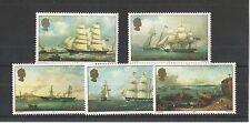 Jersey 1985 artistas 6TH serie SG, 352-356 Um/M N/H Lote R17