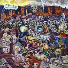 Rudolf Voigt (1925-2007) | Müllplatz der Geschichte I.Fassung, Öl/HF,165x167cm