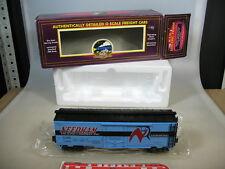 s893-1 # MTH Trains O Gauge Boxcar Needham,llnx 2454,No MT-9401L Top + Original