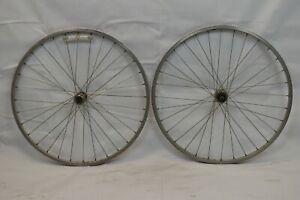 "Matrix Single Track 26"" MTB Bike Wheels OLW110/135 14mm 32S Alivio Hubs Charity!"