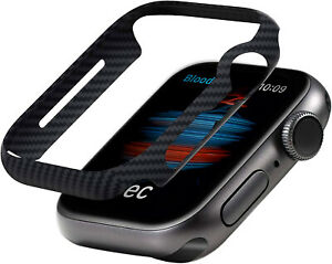 Original Pure Aramid Carbon Fiber Slim Air Case for Apple Watch 6/SE/5/4 44/40mm