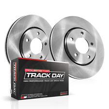 Disc Brake Pad and Rotor Kit-Track Day Brake Kit Rear fits 16-19 Honda Civic