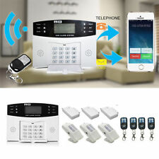 Wireless LCD GSM SMS Burglar Fire Alarm System Auto Dialer Home Security Safe T