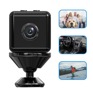 Mini Hidden Camera WiFi Wireless 1080P HD for Home Security Cam Motion Detection