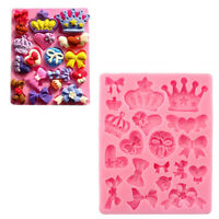 Silicone 3D Crown Fondant Cake Chocolate Sugar Mold Baking Mould Making Craft