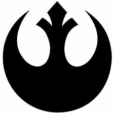 Star Wars Rebel Alliance Symbol Vinyl Decal Sticker