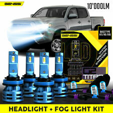 Titan LED Headlight And Fog Light Conversion Kit for Toyota Tacoma 2016 to 2020