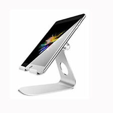 1PCS Tablet Stand Adjustable iPad Stand Desktop Holder Dock Silver for iPad