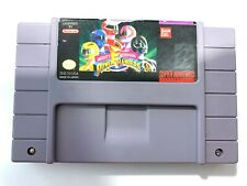 Mighty Morphin Power Rangers (Authentic) (Super Nintendo, SNES) Tested & Working