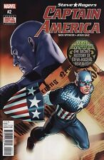 CAPTAIN AMERICA: STEVE ROGERS #2 Marvel Comics Avengers Secret Empire 1ST PRINT!