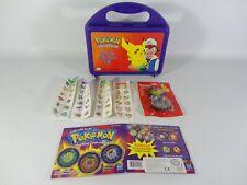 Pokemon Bundle - Tin Dangle Keyring Battling Coin Game Sticker Treasure Kit RARE