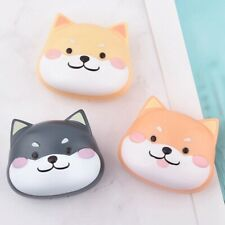 Cute Dog Contact Lens Case Container Travel Portable Kit Mirror Box Set #