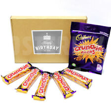 HAPPY BIRTHDAY - Cadbury Crunchie Treat Box - Rocks and Bars - Great Gift