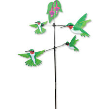 "Carousel Humminbirds Staked Wind Spinner 59"" x 28"" Dia. 28"" Apprpx Pr 21617"