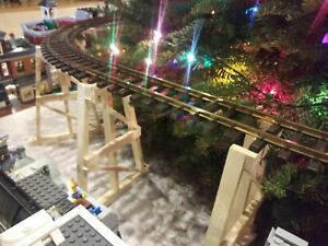 G Scale Model Train Garden Trestle Custom 12 inch G gauge.Use for LGB and Lionel