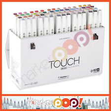 ShinHan Art TOUCH TWIN Brush Marker Set 60A 1216030 New USA Authorized Dealer