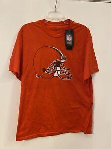 NFL Cleveland Browns Fanatics Men's Crew Neck Short Sleeve Size Large NWT