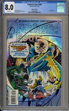 FANTASTIC FOUR #398 - CGC 8.0 - PRISM FOIL COVER - 1993833007
