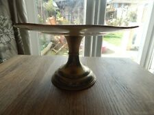 vintage silverd 22cm plate cake stand