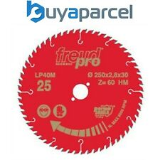 Freud Pro LP40M019 TCT Cross Cutting Saw Blade 216mm x 30 x 64 Tooth LP40M 019