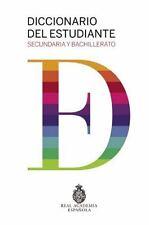DICCIONARIO DEL ESTUDIANTE - REAL ACADEMIA ESPA±OLA (COR) - NEW HARDCOVER BOOK