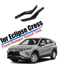 For Mitsubishi Eclipse Cross 2018-2020 Front Bumper Corner Cover Trim ABS Carbon