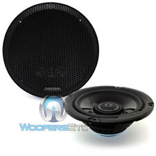"ROCKFORD FOSGATE TMS65 6.5"" 75W Rms 2-WAY POWER Coaxial Altavoces De La Motocicleta"
