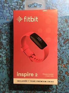 Fitbit Inspire 2 Activity Tracker - Desert Rose - Brand New - Free Shipping