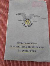 CATALOGUE VULCANA RÉPARATION DU PNEUMATIQUE CHAMBRE A AIR GENÈVE SUISSE (ref 45)