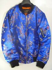 TOPSHOP FINDS BOMBER JACKET ORIENTAL CHINESE SATIN COAT SIZE 10