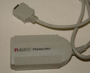 Asante FN10TA RJ-45 10BaseT Ethernet Transceiver for AAUI Apple Computers