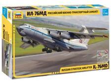ILYUSHIN IL-76 MD RUSSIAN HEAVY MILITARY TRANSPORT AIRCRAFT #7011 1/144 ZVEZDA