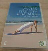 Radiance Yoga Vinyasa Strength & Balance DVD All Regions Jessie Chapman