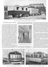 ASNIERES THEATRE AMBULANT GEMIER CIRQUE CIRCUSI ADP DE GUSTAVE BABIN 1911