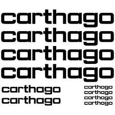2  Camper Carthago Aufkleber Decals Sticker Geschrieben