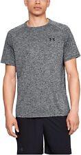 Under Armour Herren Fitness Trainings T-Shirt UA Tech™  2.0 schwarz meliert