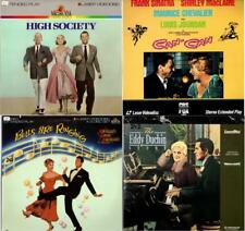 Laser Discs HIGH SOCIETY, CAN CAN, BELLS ARE RINGING, EDDY DUCHIN STORY