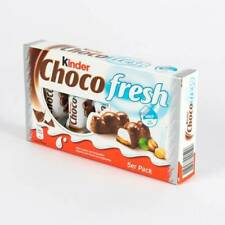 KINDER CHOCO FRESH 1 x 105 g /5 BARS  Shipping Worldwide