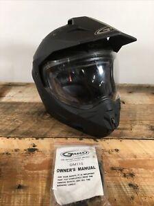 GMAX GM11S Sport Helmet Flat Black, Motorcycle Helmet