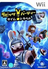 Used Wii Rabbids Party: Time Travel JAPAN JP JAPANESE JAPONAIS IMPORT