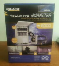 New Listingnew Reliance Controls Back Up Power Transfer Switch Kit 306lrk Up To 8000 Watts